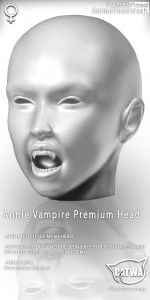 Annie Vampire head-Long