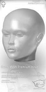 CATWA HEAD Gwen Human Ad