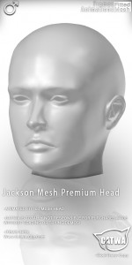 CATWA HEAD Jackson Human Ad