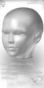 CATWA HEAD Candy Ad