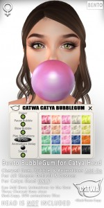 CATWA Catya BubbleGum Ad