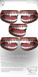 CATWA HEAD Catya Teeth Ad