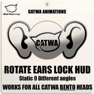 CATWA Human Ears Rotation HUD ad
