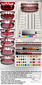 CATWA HEAD Catya Teeth Ad
