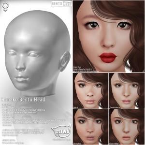 CATWA HEAD Hanako Ad2