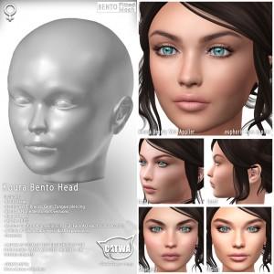 CATWA HEAD Koura Ad23