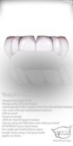 CATWA Teeth Vampire