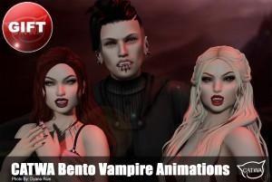 CATWA Vampire Poses GIFT