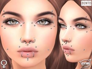 CATWA Face Piercing Female Ad2