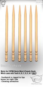 CATWA Toothpick Ad